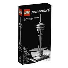 Barnes And Noble Legos Lego 2011 Architecture Seattle Space Needle 673419160117 Item