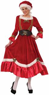 mrs claus costumes velvet classic mrs claus costume candy apple costumes