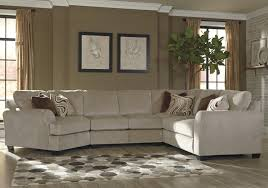 4 piece sectional w left cuddler by benchcraft wolf and
