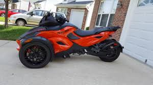 can am spyder rs motorcycles for sale in maryland