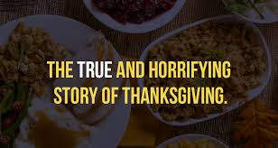 the true and horrifying story of thanksgiving marketing