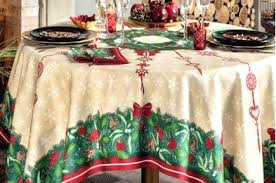 christmas tablecloth jour de fete christmas luxury tablecloth by beauville