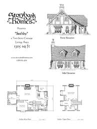 home house plans 29 best storybook homes images on fairytale cottage