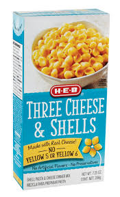h u2011e u2011b three cheese and shells u2011 shop easy dinners at heb