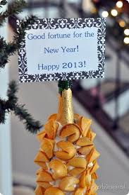 new year s fortune cookies new years fortune cookie display