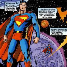 dc golden superman canon exact powers