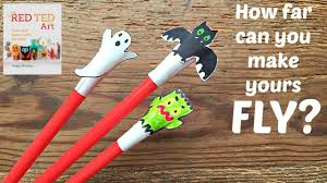 halloween crafts cute shooter craft u0026 activity youtube