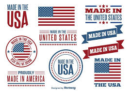 free vector made in usa label set 16954 my graphic hunt