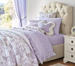 Girls Quilted Bedding by Evelyn Butterfly Quilt Pottery Barn Kids