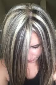 lowlights on white hair gallery lowlights for white hair women black hairstyle pics