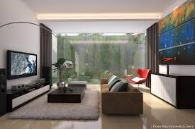modern living room interior design decorating with simple