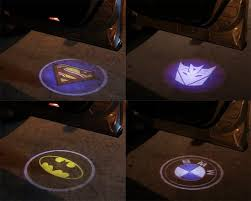 batman signal light projector car door batman symbol laser projection light craziest gadgets