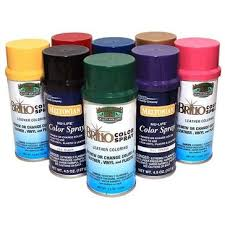 leather spray paint by manhattan wardrobe supply