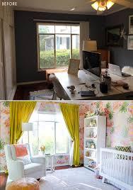 a floral glam nursery reveal emily henderson