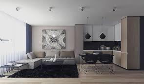 amenagement cuisine salle a manger salon salon salle a manger gris pour decoration cuisine moderne élégant
