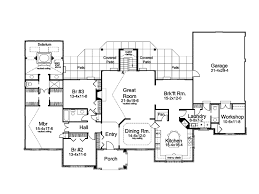 country one story house plans country house plans cottage house plans