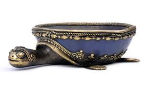wholesale display bowl in bronze u2013 handmade 8 u201d decorative turtle