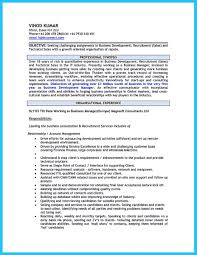 Best Resume Set Up by Marvelous Things To Write Best Business Development Manager Resume