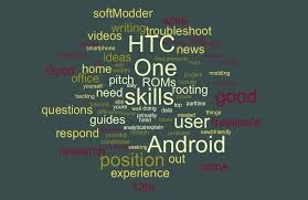 résumé hack use a word cloud to find the most important keywords
