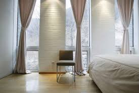 modern drapery panels and curtains for modern window treatments