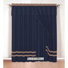 Valance Blue Navy Blue Window Valance