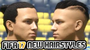 fifa 14 all hairstyles brand new fifa 17 hairstyles youtube