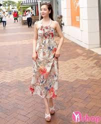 dam maxi hợp kiểu váy đầm maxi dáng dài đẹp hè 2017 cho nàng thướt tha