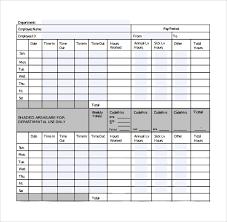 sample biweekly timesheet calculator 6 documents in word excel