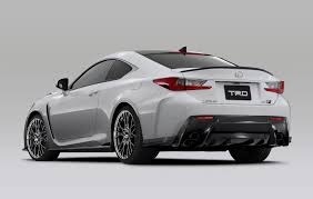 lexus lfa drawing trd japan has a variety of goodies for the lexus rc f u2013 clublexus