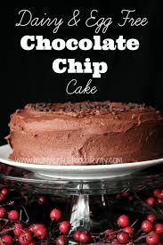 dairy egg u0026 nut free chocolate chocolate chip cake mom vs