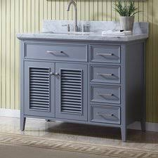 bathroom vanity left side sink wayfair