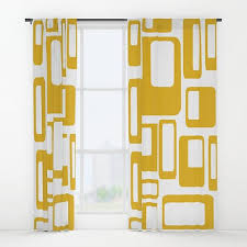 Retro Curtains Retro Curtain Panels Modern Curtains Retro Cu In Center City