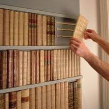How To Make A Secret Bookcase Door Make A Box With Faux Book Spines To Hide Stuff Inside Book Spine