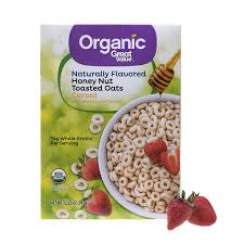 great value organic toasted oats cereal 12 25 oz walmart com