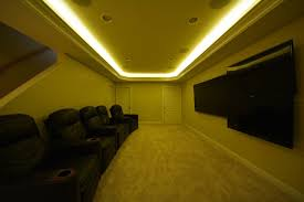 home theater led lighting wonderful ideas basement led lighting ideas unique design boulder