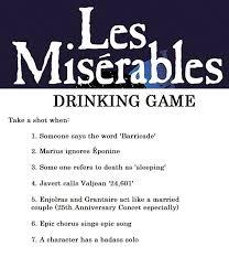 Meme Drinking Game - les mis drinking game by iorwenwillowdavis on deviantart