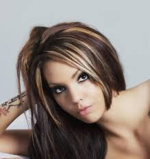 highlights for grey hair pictures curly hair funky highlights funky hair highlights ideas for
