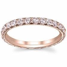 gold eternity ring gold pink diamond eternity ring