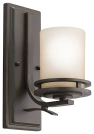 Contemporary Wall Sconces with Kichler 1 Light Wall Sconce Contemporary Wall Sconces By