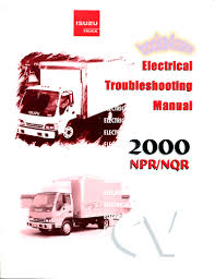 isuzu npr nqr gmc w shop manual service repair book electrical
