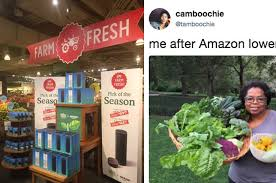 Whole Foods Meme - officially owns whole foods now and naturally twitter has jokes