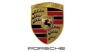 porsche logo black background porsche logo png images free download