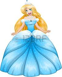 russian princess cartoon illustration beautiful