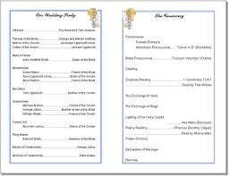 blank wedding program templates 14 best wedding programs images on wedding programs