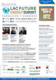 lac future energy summit 2017 27 28 april 2017 hotel geneve mexico u2026