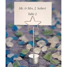 shining star design place card holder favors 328 4732 shining