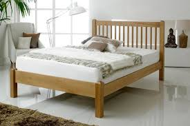Oak Bed Frame Trafalgar Solid Oak Bed Frame 4ft6 The Oak Bed Store
