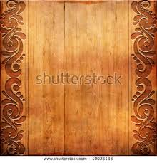 carved wooden pattern stock illustration 163358738