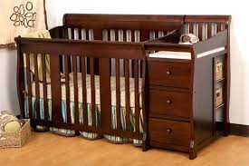 cribs with changing table and storage crib and changing table cherry wood crib with changing table storage