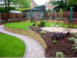 garden design landscaping hillside landscaping ideas on small